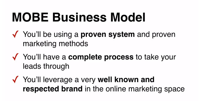 MOBE Business Model Description