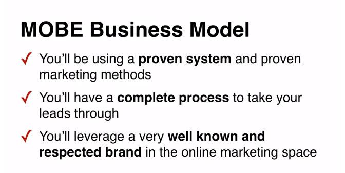MOBE Business Model Description