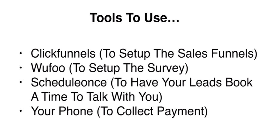 Tools to use for contact sales funnel
