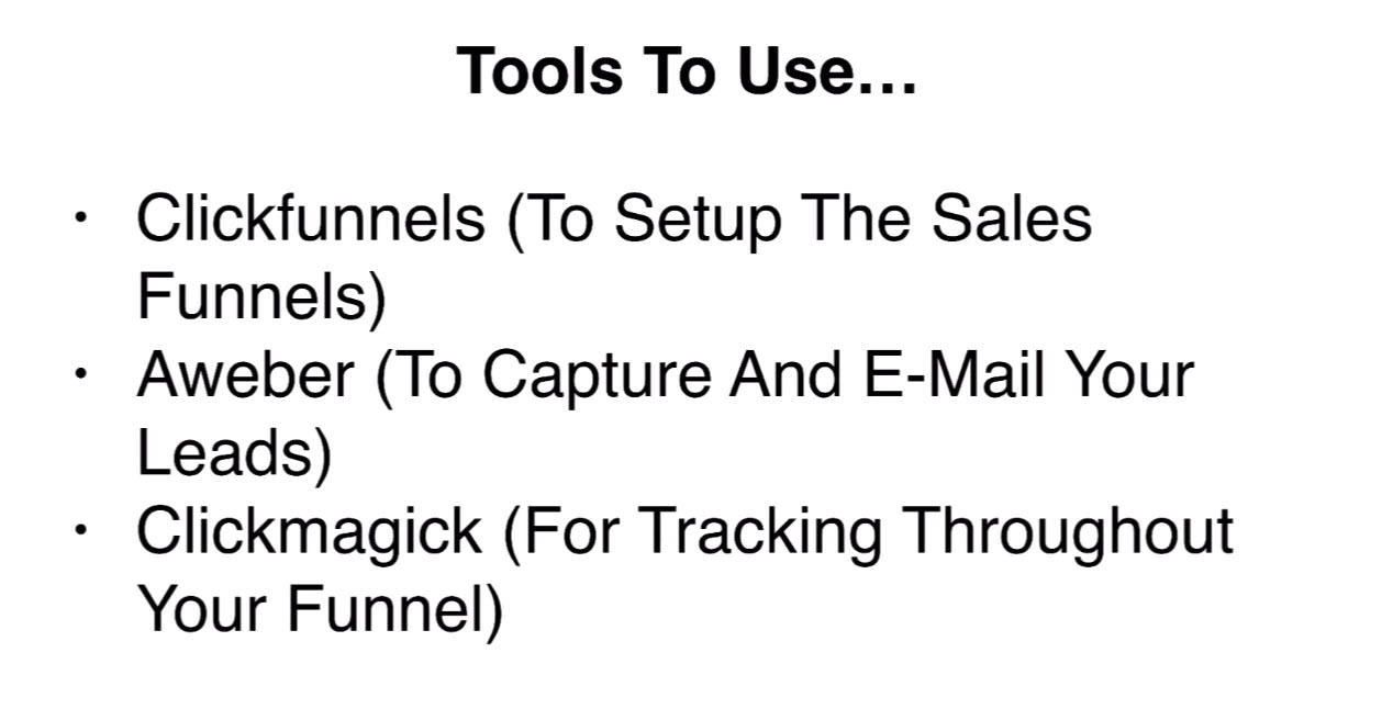 Tools to use building your first opt in funnel
