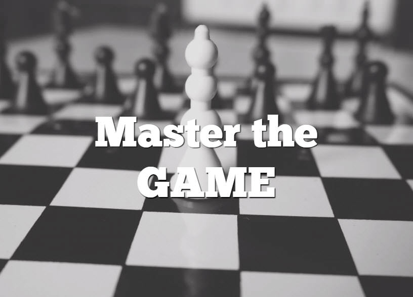 Master the game - website traffic