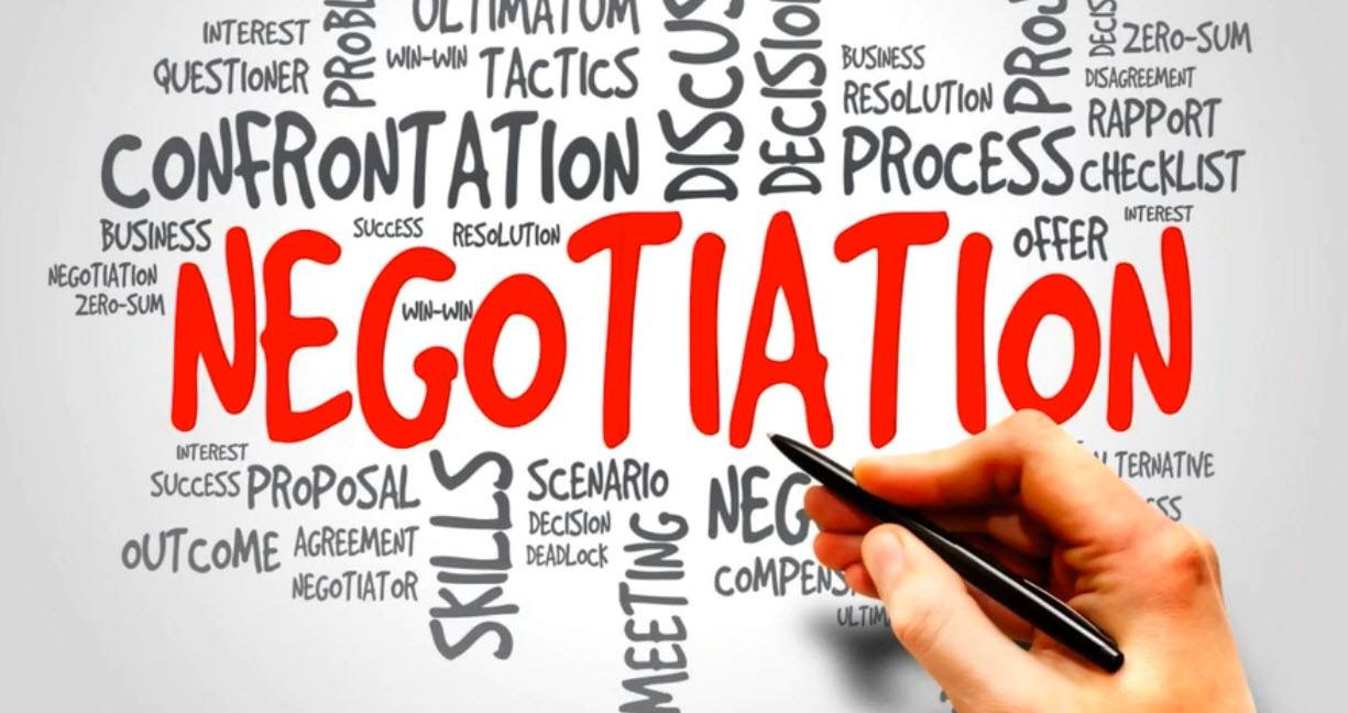 negotiation - this is how we try to learn about the quality of our List