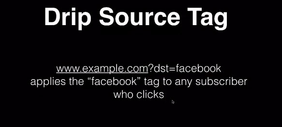 Adding tags for DRIP source