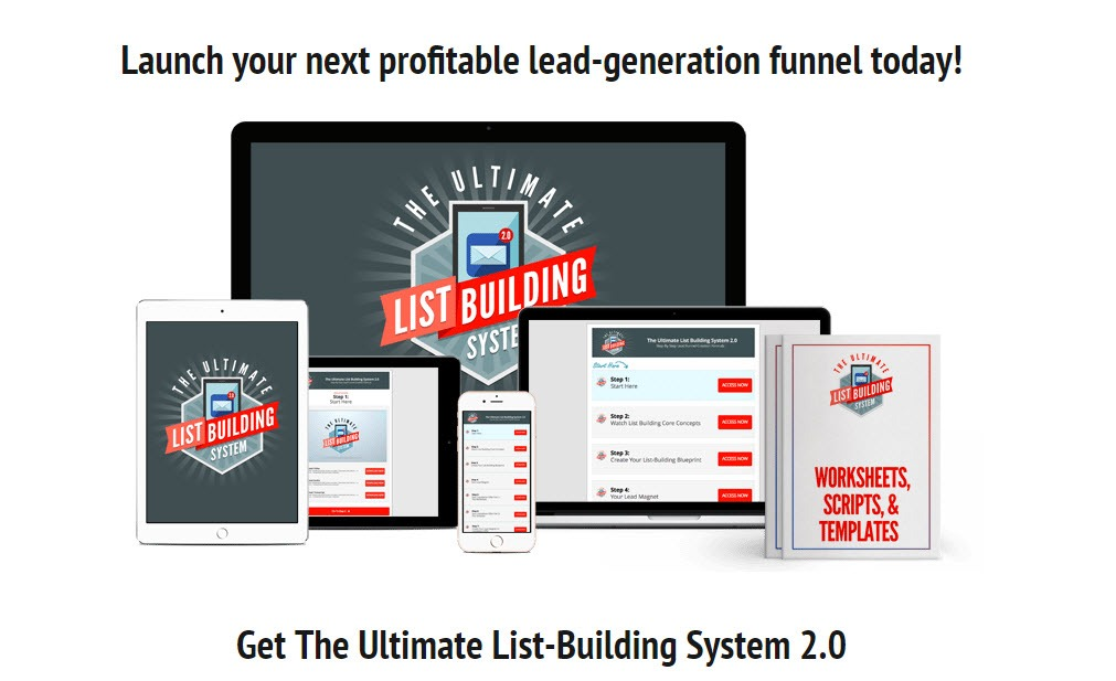 Get The Ultimate List-Building System 2.0