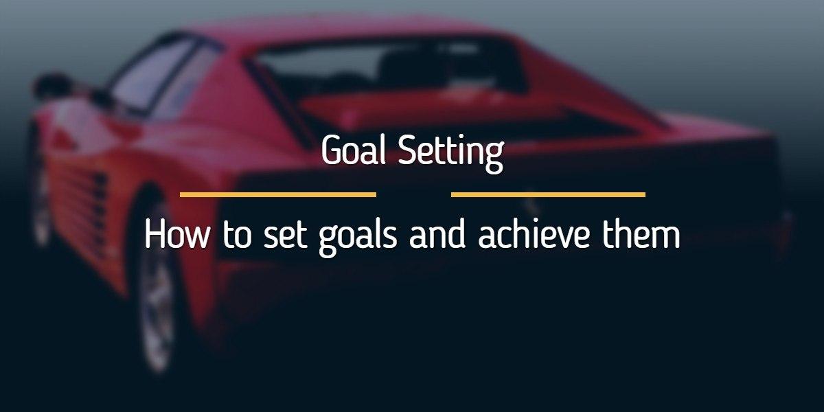 The goal setting