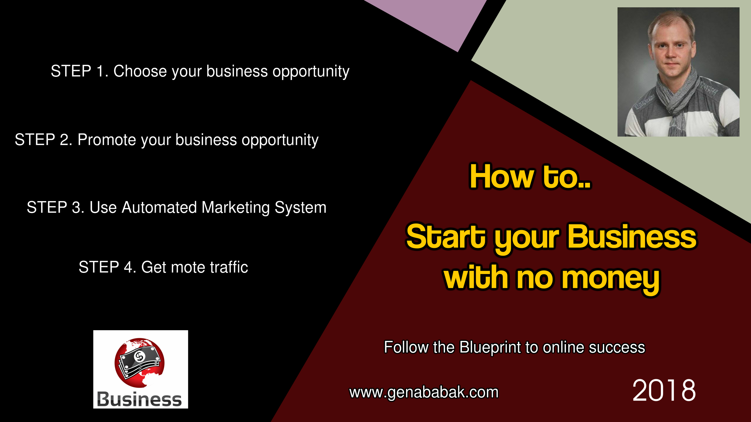 How to start your business with no money