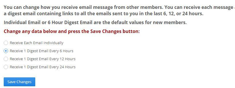 Instant Profit Mailer - Email Change