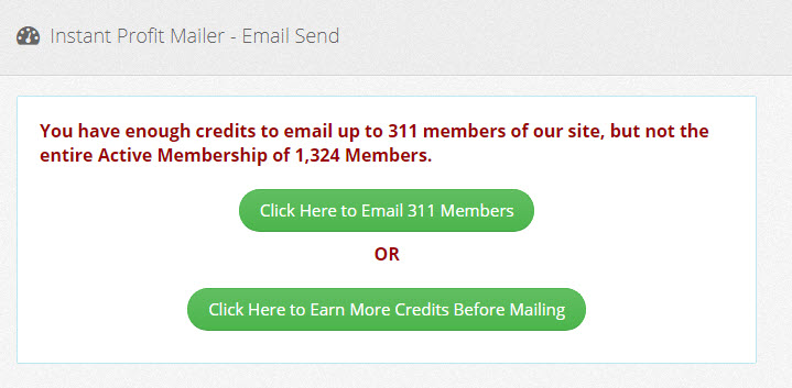 Instant Profit Mailer - How to send an email