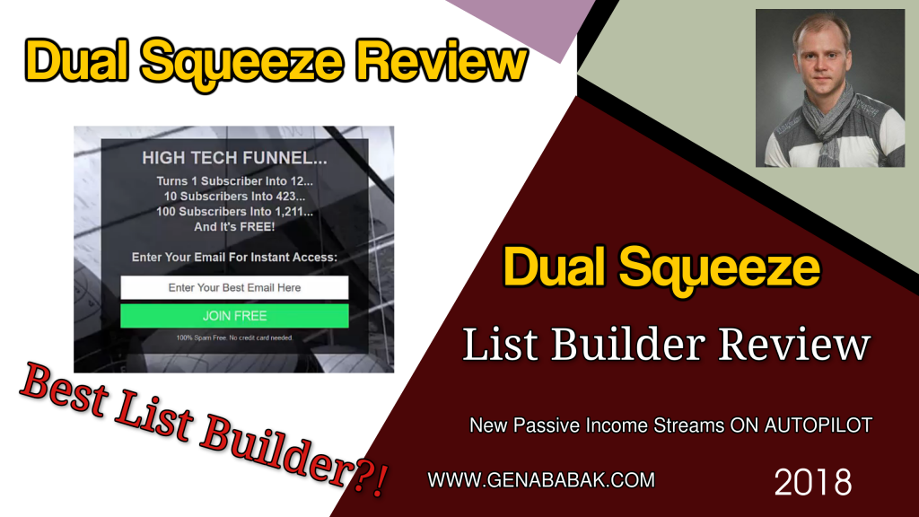 Dual Squeeze List Builder Review 2018