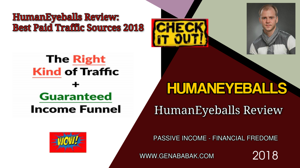 Humaneyeballs review - best paid traffic for affiliate marketers Clickbank and CPA offers