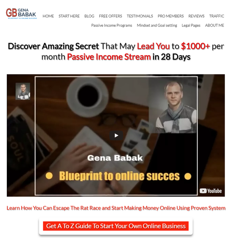 affiliate marketing guide for beginners - blog building
