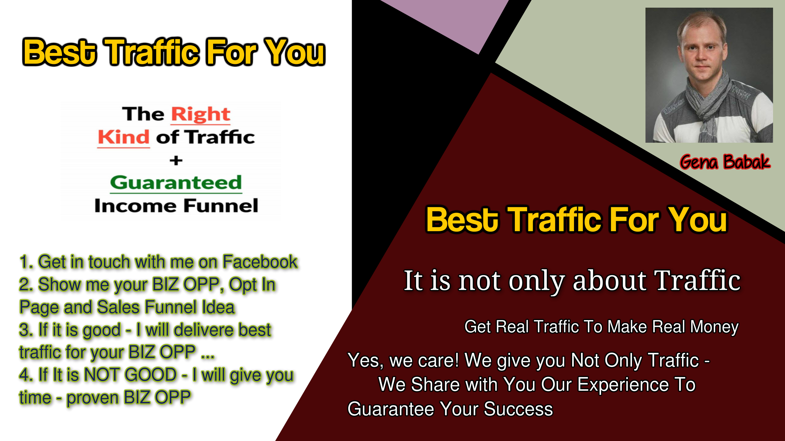 BEST PAID TRAFFIC FOR YOU
