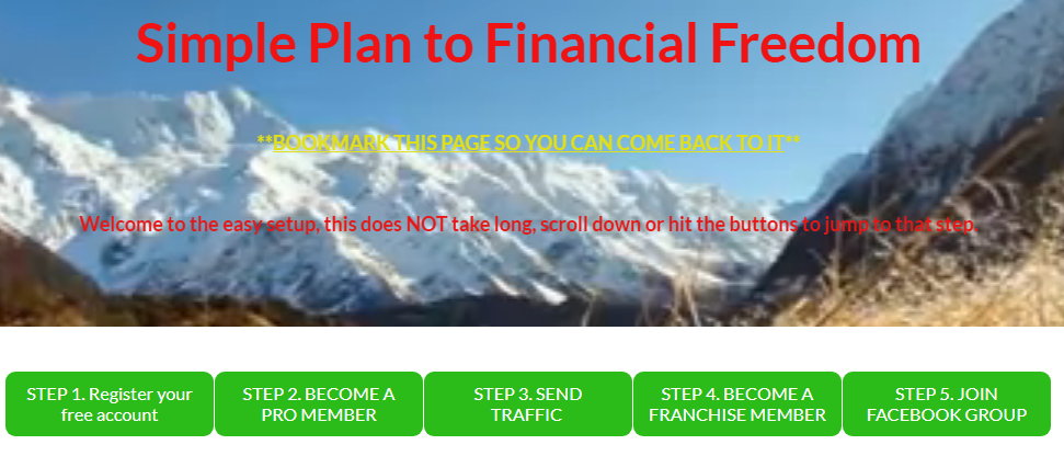SIMPLE PLAN TO FINANCIAL FREEDOM