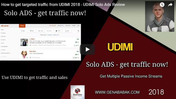 How to get targeted traffic from UDIMI in 2018: UDIMI Solo Ads Review