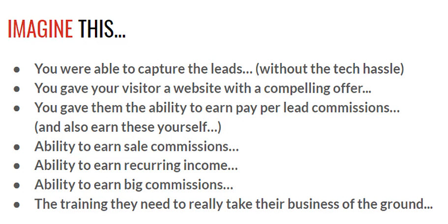 Imagine this - how to create a sales funnel that converts, how to get leads from your website