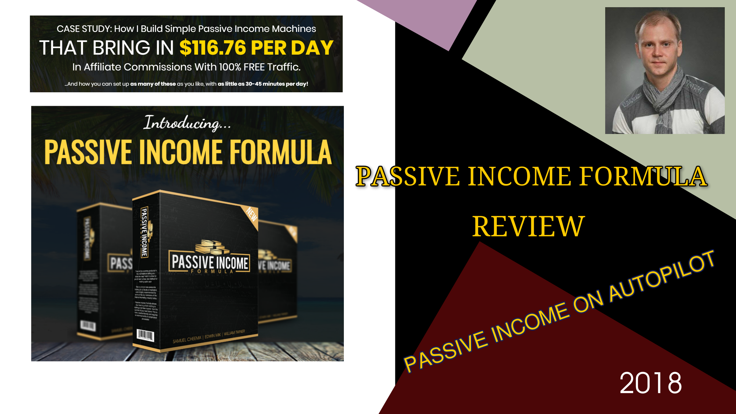 PASSIVE INCOME FORMULA REVIEW BY GENA BABAK