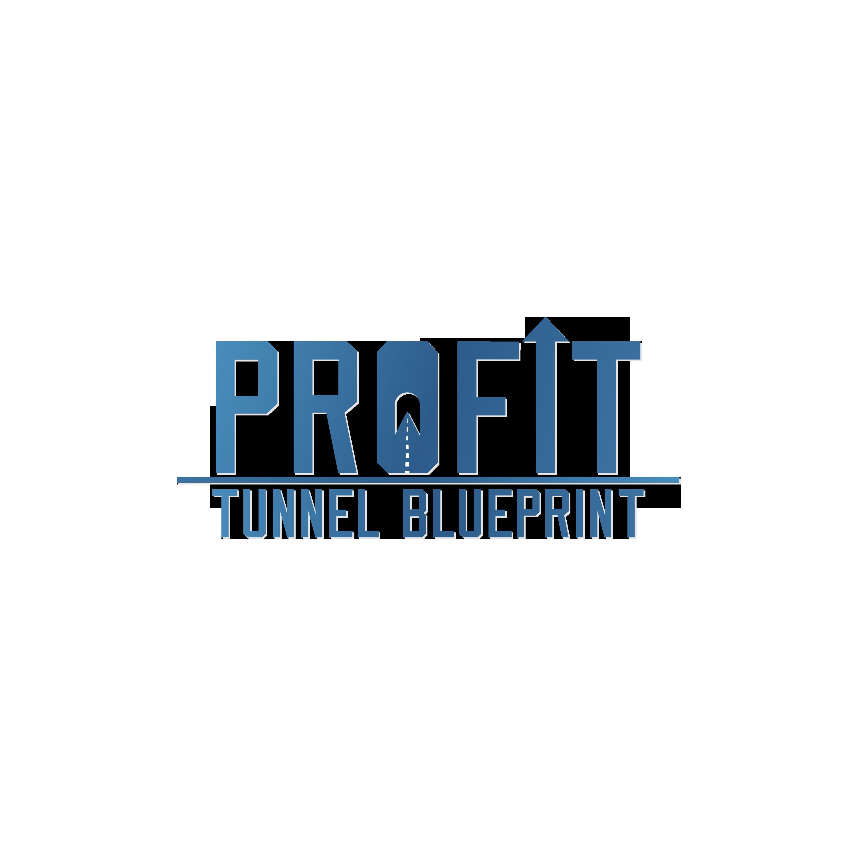 PROFIT TUNNEL BLUEPRINT  LOGO