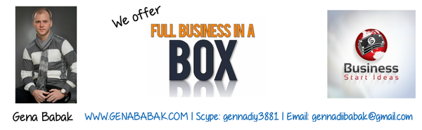 Business Start Ideas - tools to create your own business online