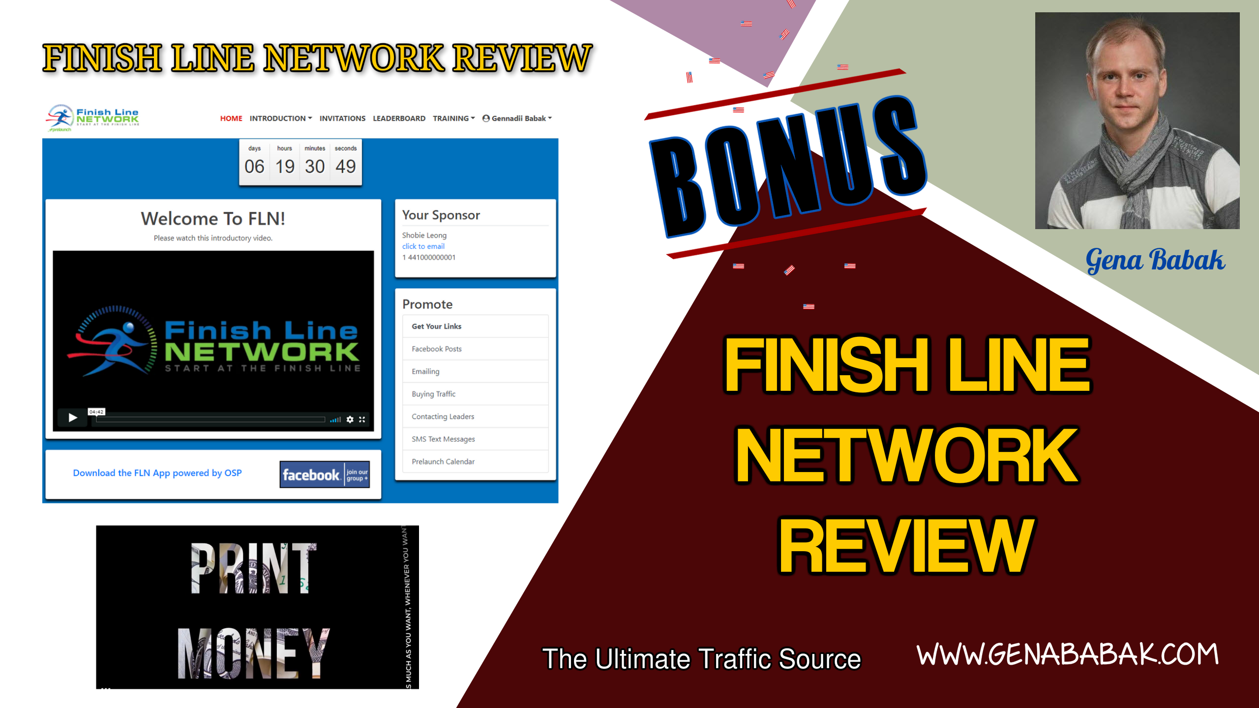 Finish Line Network Review by Gena Babak