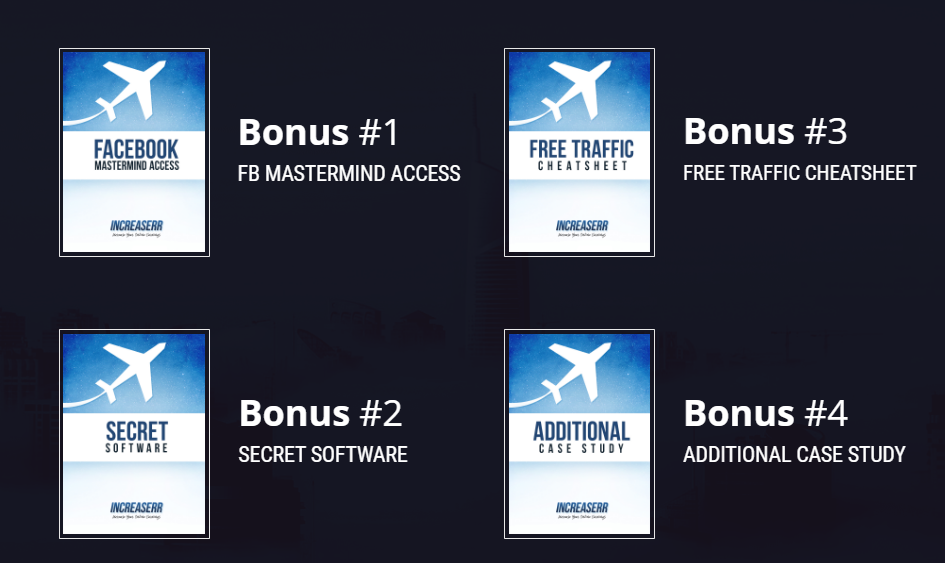 INCREASERR BONUSES - INCREASERR Is Perfect For Your Typical Average Person To Make It Work!