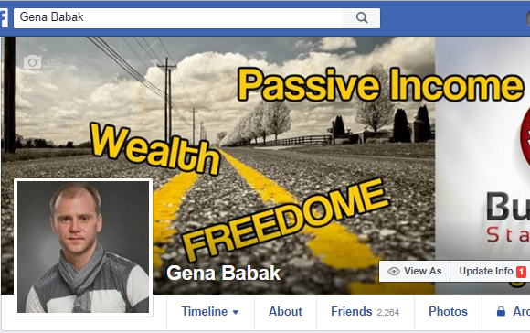 GENA BABAK's Facebook profile