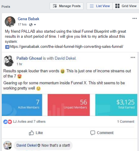 Funnel X ROI review and testimonials