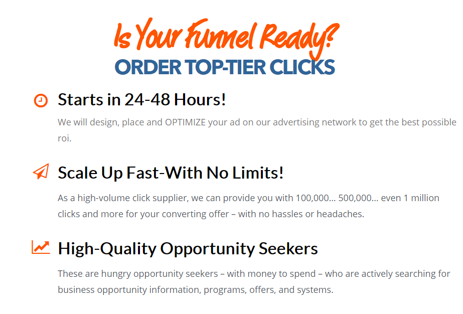 BESTTRAFFICFORYOU Order top tier clicks in 24 h