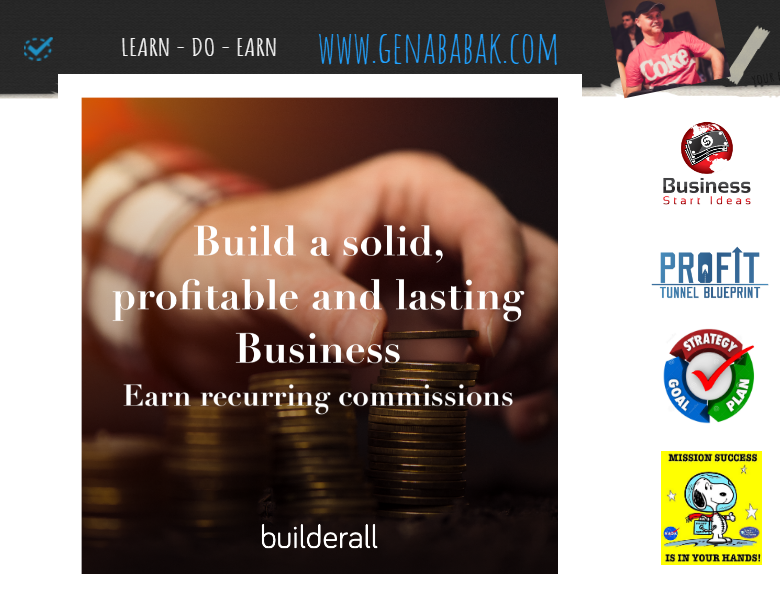 Build a solid business with Builderall - Builderall review by GENA BABAK