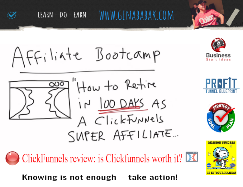 ClickFunnels review by GENA BABAK - is Clickfunnels worth it