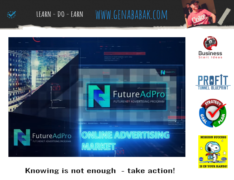 FUTUREADPRO REVIEW get access to advertising market platform with revenue share model