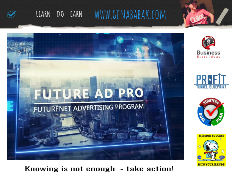 Learn how you can make money online using Futureadpro advertising program
