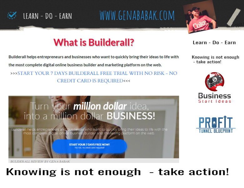Read my builderall review