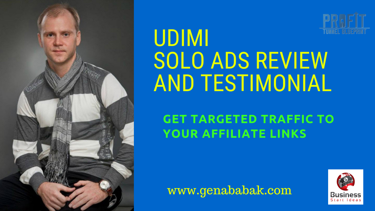 UDIMI Solo Ads Review - How to get targeted traffic from UDIMI 2018