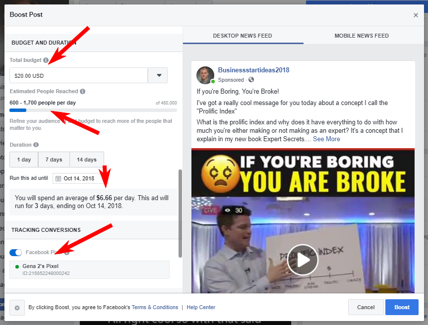 How to use retargeting on Facebook when you promote Clickfunnels affiliate program