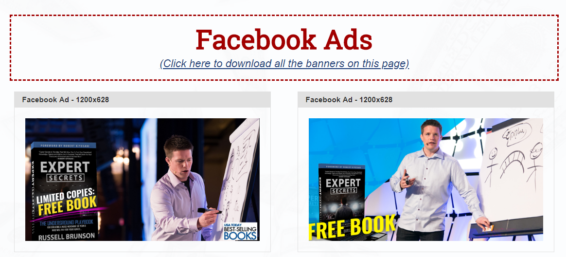 Clickfunnels review - how to promote Clickfunnels with Facebook Ads