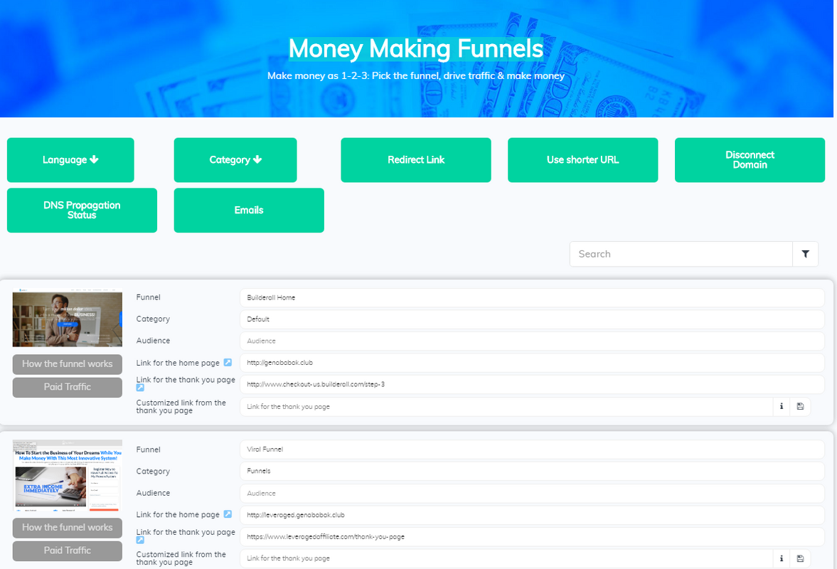 Builderall Money Making Funnels
