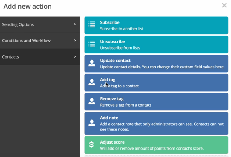 Active Campaign Case Study: how to create your first automation - Contact - Adding a  Tag