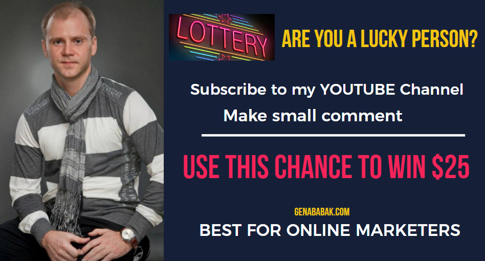 CHANCE TO WIN $25: SUBSCRIBE TO MY YOUTUBE CHANNEL AND COMMENT