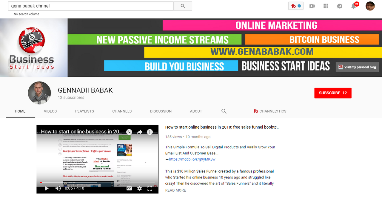 GENA BABAK: SUBSCRIBE TO YOUTUBE CHANNEL