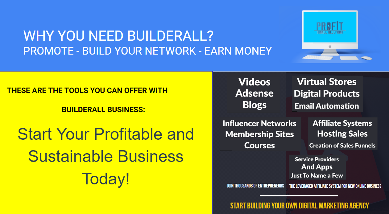 JOIN BUILDERALL AFFILIATE PROGRAM ANS START SELLING SOFTWARE NOW