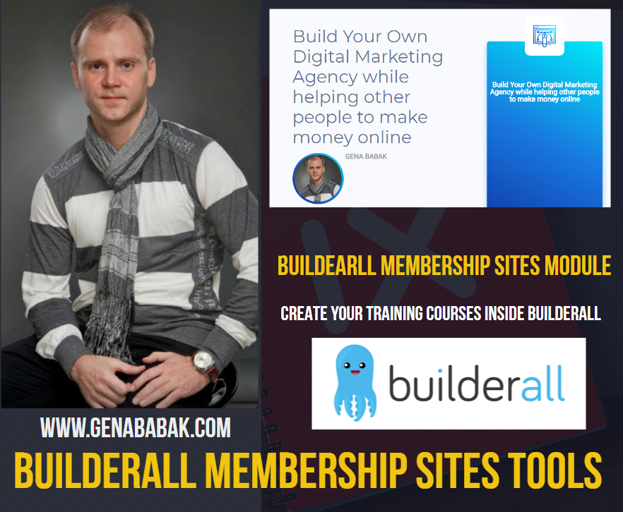 BUILDERALL MEMBERSHIP SITES REVIEW BY GENA BABAK