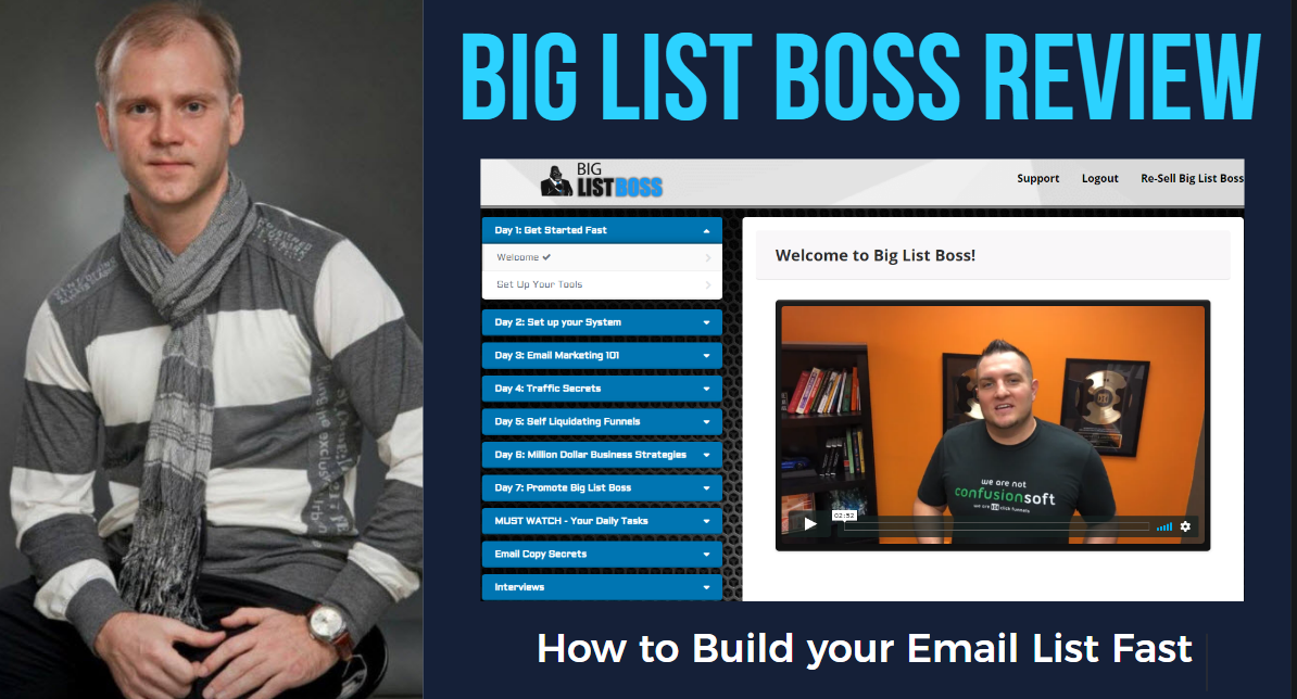 BIG LIST BOSS REVIEW: HOW TO BUILD YOU EMAIL LIST FAST.