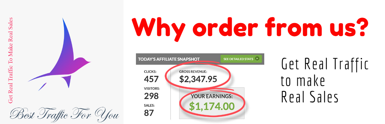 Besttrafficforyou.com solo ads review - why order traffic from us