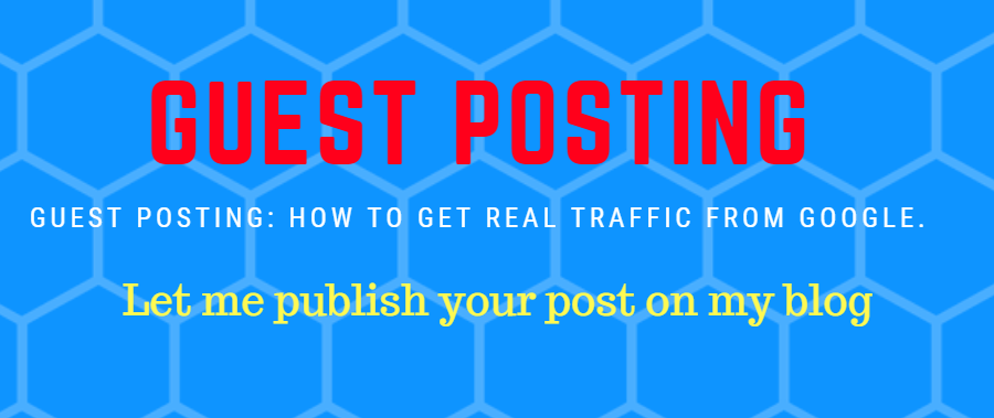Let me publish your post on my blog: guest posting