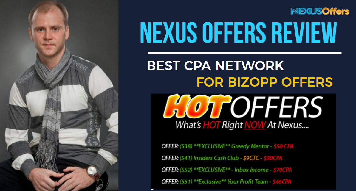 Nexus Offers Review - NEXUSOFFERS is a Full Service CPA Network