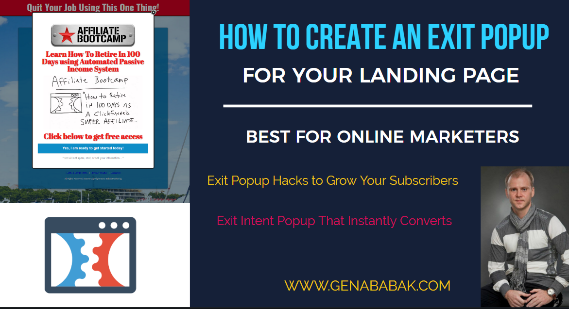 How to Create an Exit Popup for Landing Page: Clickfunnels Tutorial