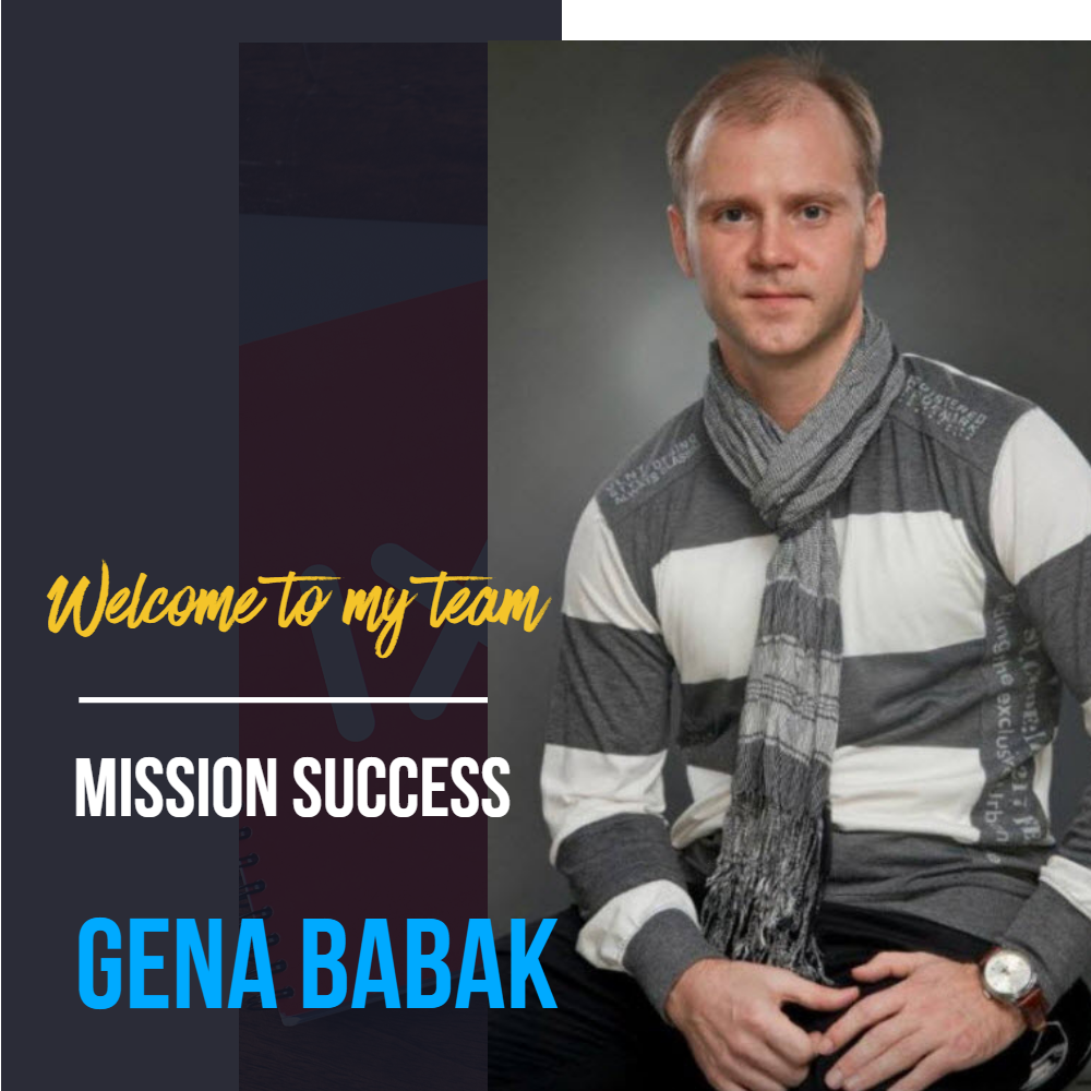 Gena Babak - how to contact me