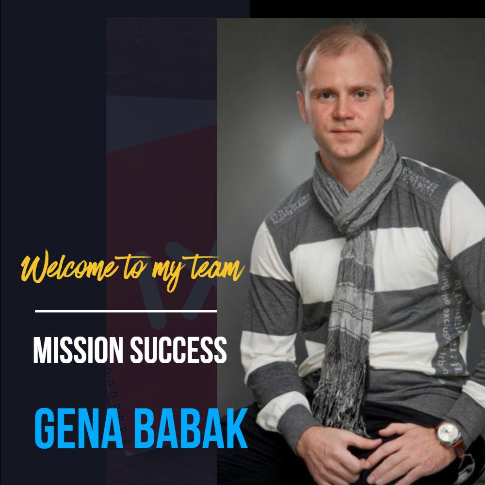 Gena Babak - how to contact me