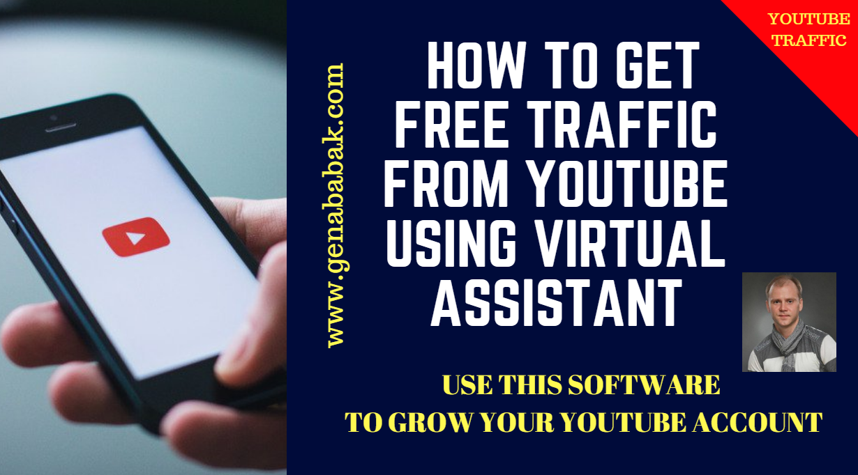 How to get free traffic from youtube using jarvee virtual assistant software