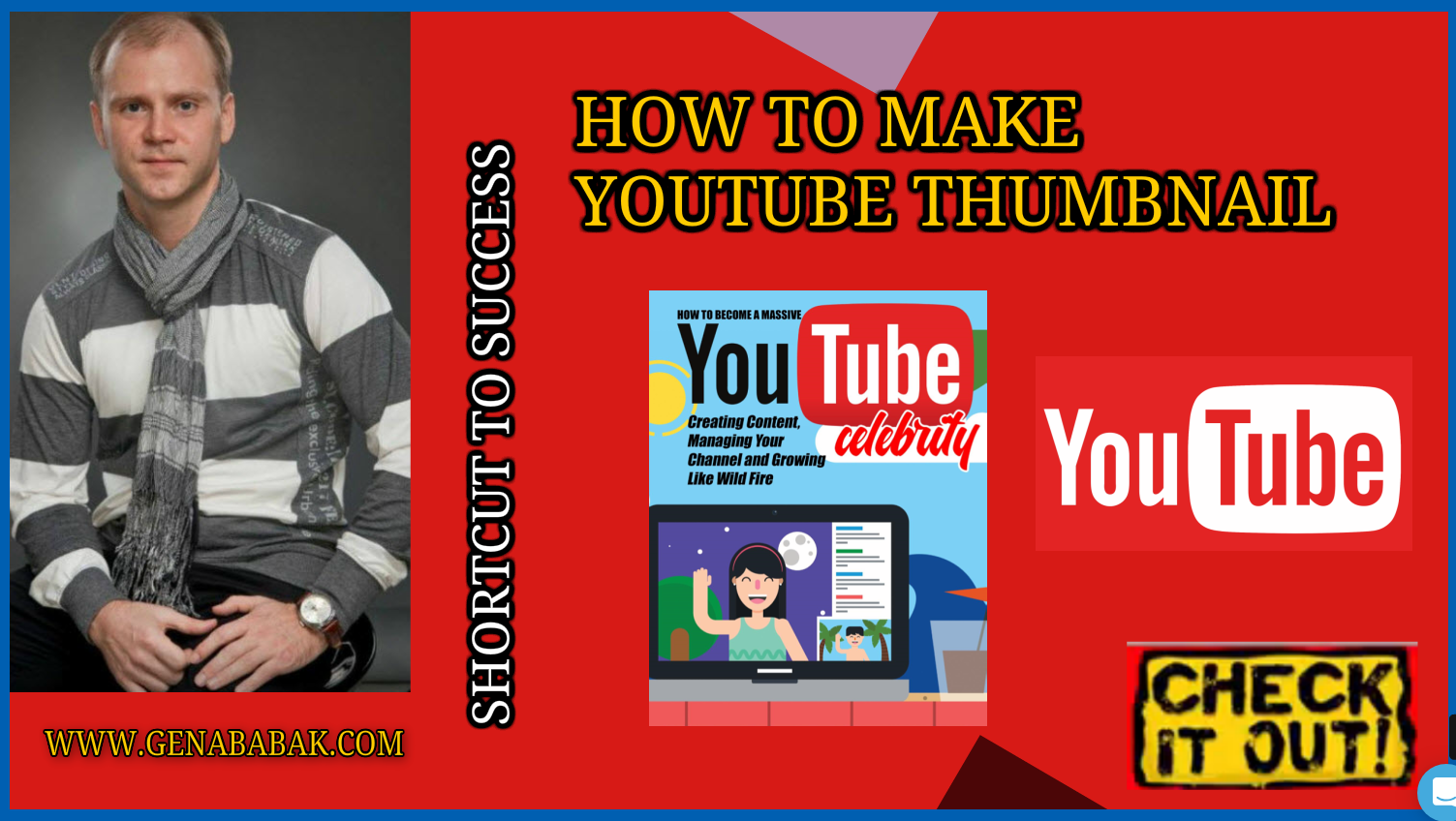 How to make youtube thumbnail using FREE Software in 2019